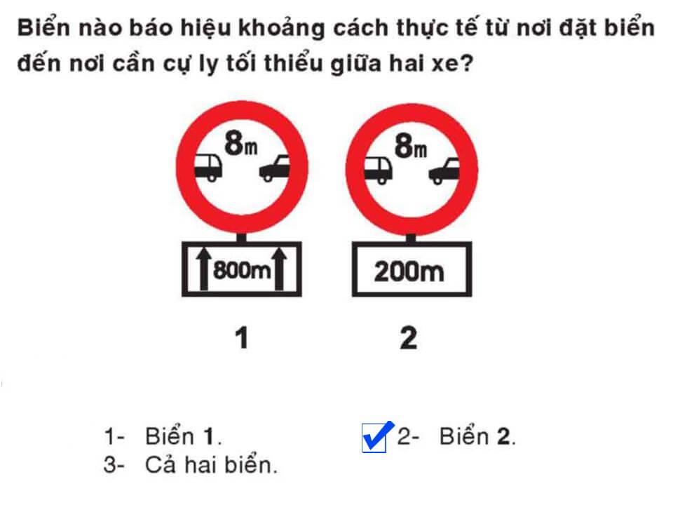Câu 360 - Bộ 600 câu hỏi ôn thi giấy phép lái xe