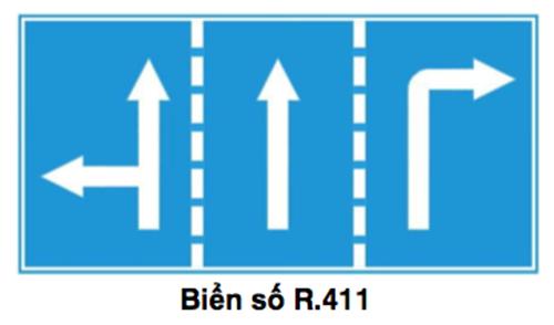 Biển chỉ dẫn thành biển hiệu lệnh R411