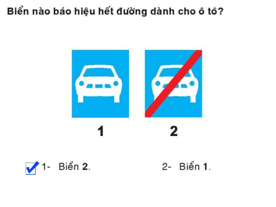 Câu 372 - Bộ 600 câu hỏi ôn thi giấy phép lái xe