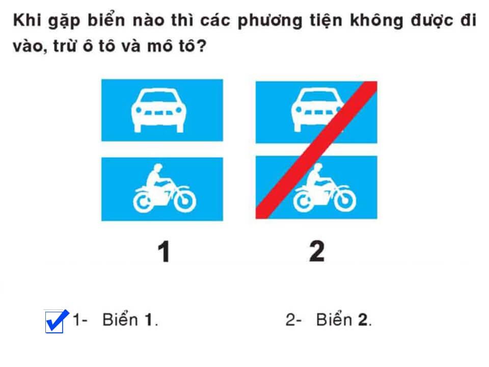 Câu 374 - Bộ 600 câu hỏi ôn thi giấy phép lái xe