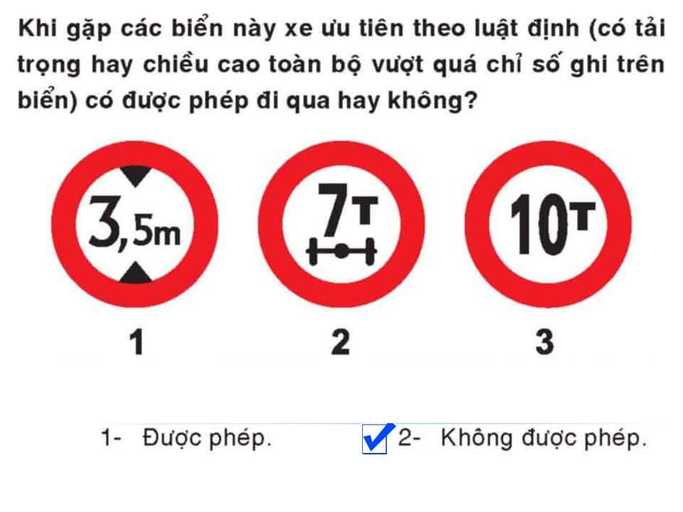 Câu 378 - Bộ 600 câu hỏi ôn thi giấy phép lái xe