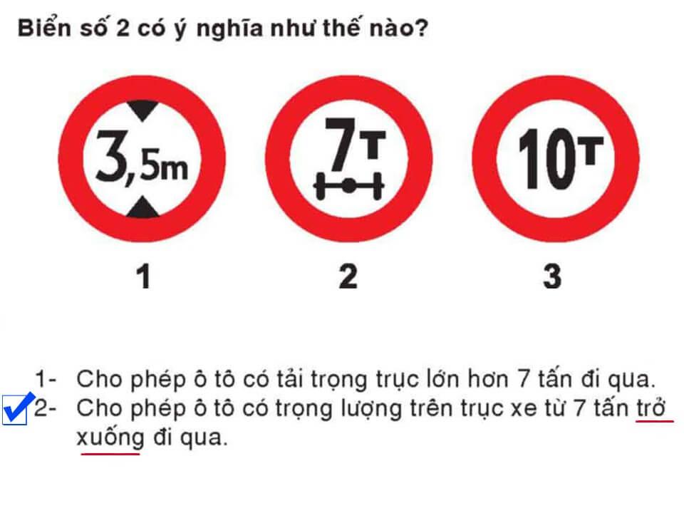 Câu 380 - Bộ 600 câu hỏi ôn thi giấy phép lái xe