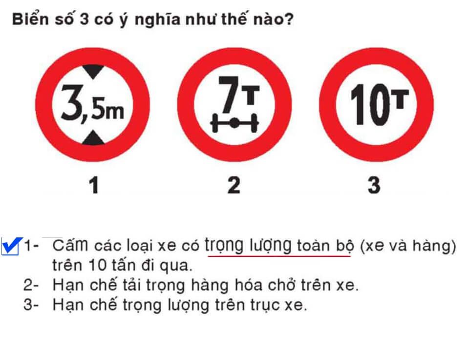 Câu 381 - Bộ 600 câu hỏi ôn thi giấy phép lái xe