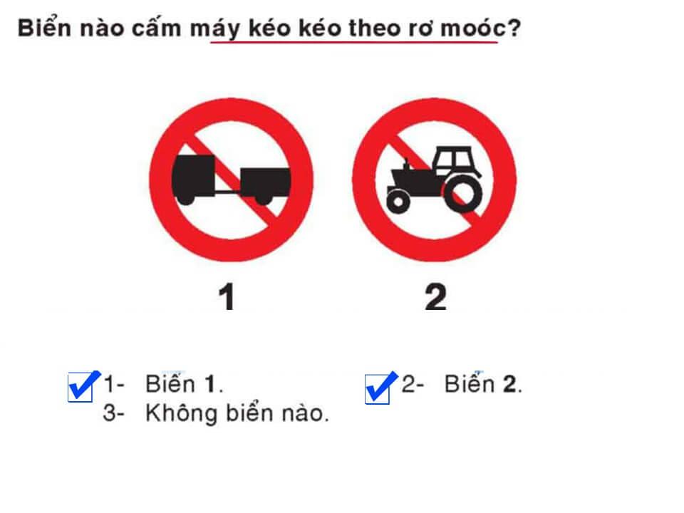 Câu 383 - Bộ 600 câu hỏi ôn thi giấy phép lái xe