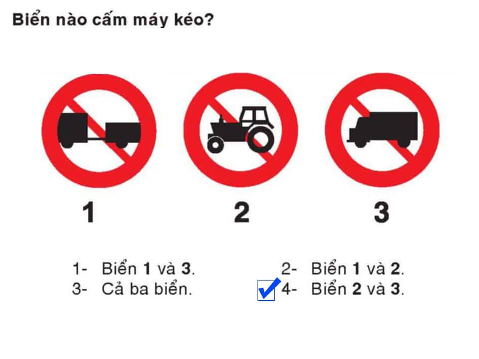 Câu 386 - Bộ 600 câu hỏi ôn thi giấy phép lái xe