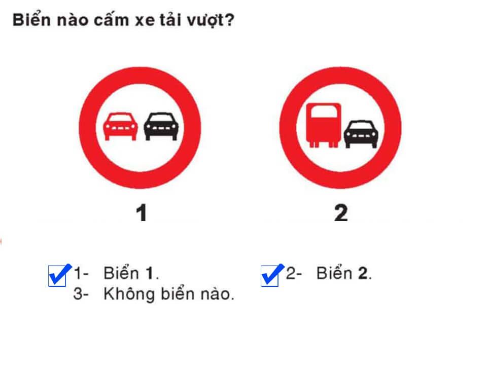 Câu 400 - Bộ 600 câu hỏi ôn thi giấy phép lái xe