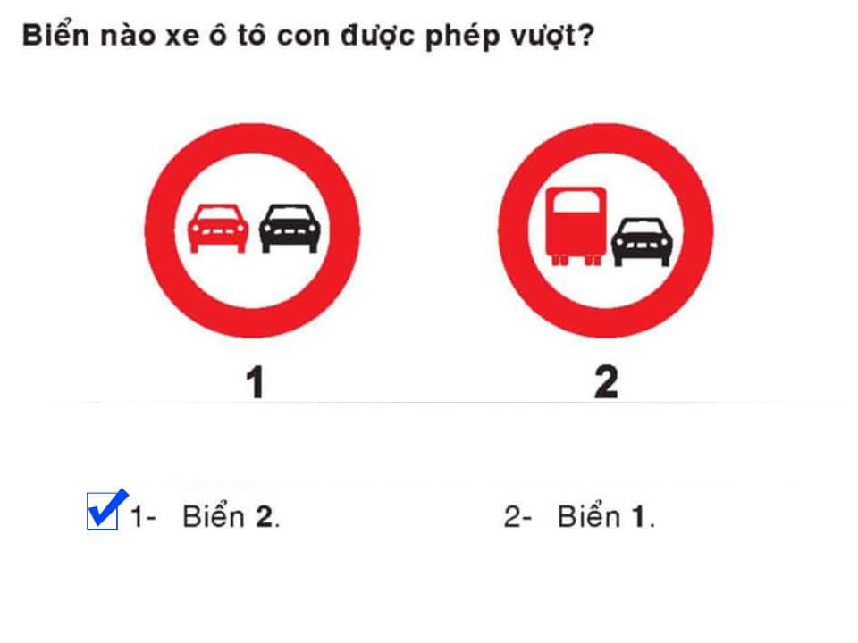 Câu 401 - Bộ 600 câu hỏi ôn thi giấy phép lái xe