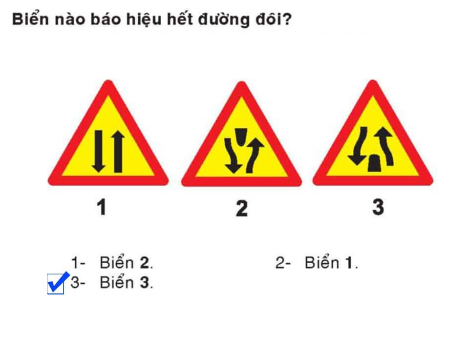 Câu 404 - Bộ 600 câu hỏi ôn thi giấy phép lái xe