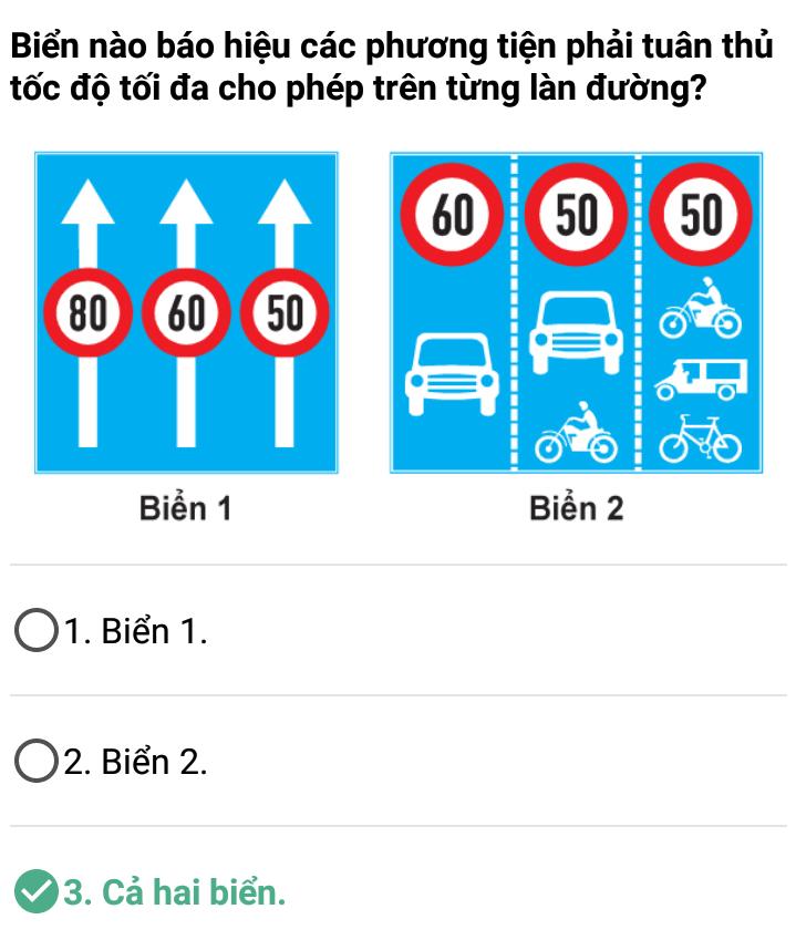 Câu 344 - Bộ 600 câu hỏi ôn thi giấy phép lái xe