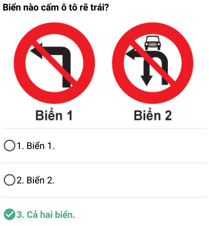 Câu 348 - Bộ 600 câu hỏi ôn thi giấy phép lái xe