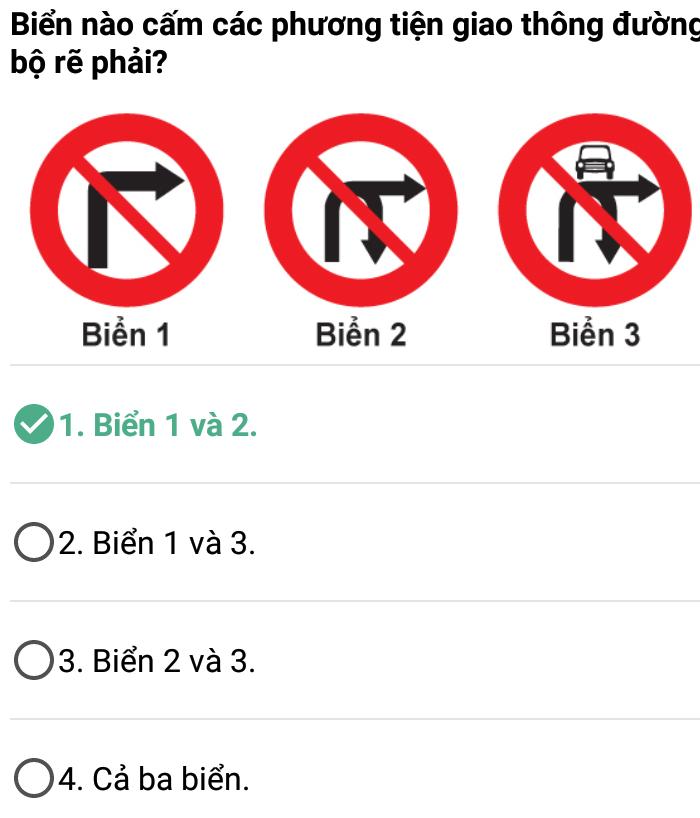 Câu 349 - Bộ 600 câu hỏi ôn thi giấy phép lái xe