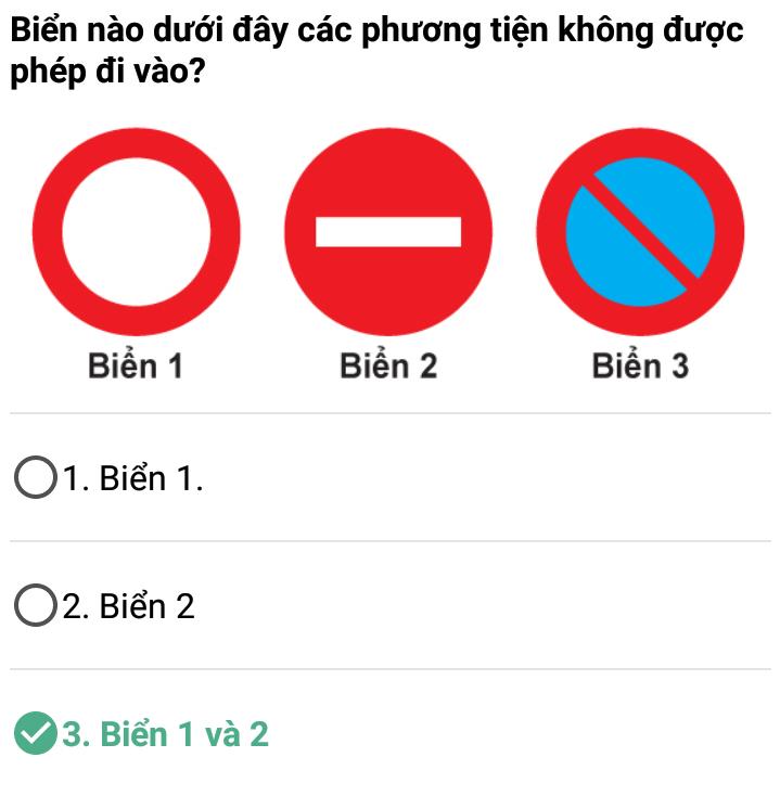 Câu 357 - Bộ 600 câu hỏi ôn thi giấy phép lái xe