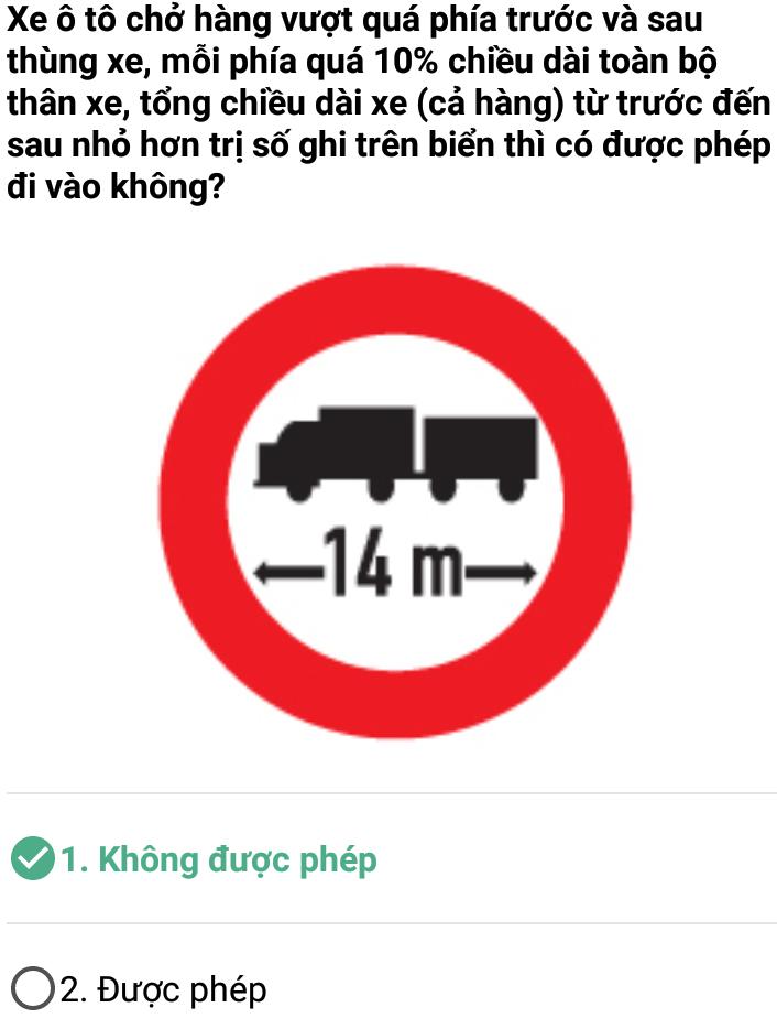 Câu 395 - Bộ 600 câu hỏi ôn thi giấy phép lái xe