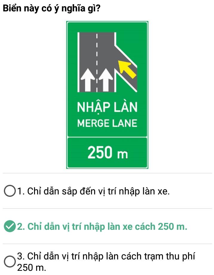 Câu 406 - Bộ 600 câu hỏi ôn thi giấy phép lái xe
