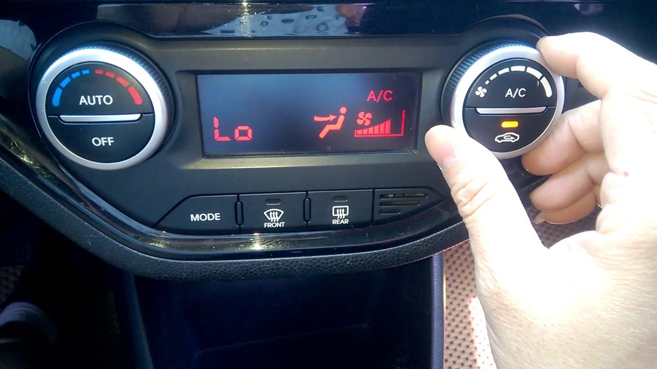 Cách bật điều hoà trên ô tô hiệu quả