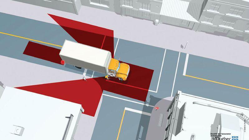 Đi vào điểm mù của xe khác là lỗi nguy hiểm khi lái xe ô tô