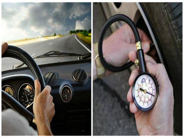 Để lốp căng quá là những thói quen khiến xe nhanh hỏng