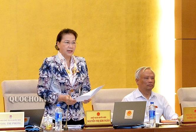 Chủ tịch quốc hội Nguyễn Thị Kim Ngân- người say xỉn lái xe
