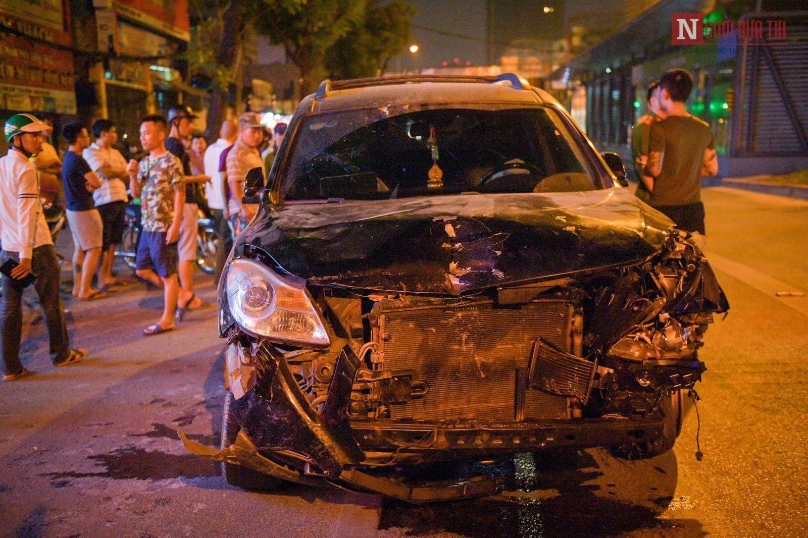 """Vụ tai nạn """"xe điên"""" tông liên hoàn vào ngày 22-04 - xử phạt người lái xe"""