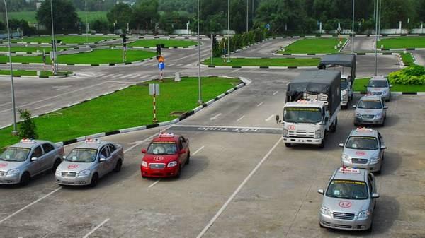 Cơ sở vật chất của trường dạy lái xe ô tô phải thất chất lượng