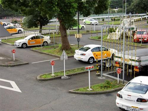 Thời gian học và thi bằng lái xe ô tô ở Nhật