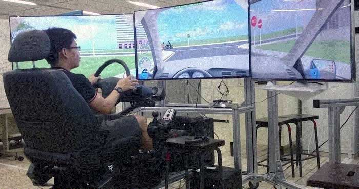 xử lý tình huống trên máy thực tế ảo - đạo đức người lái xe và văn hóa giao thông