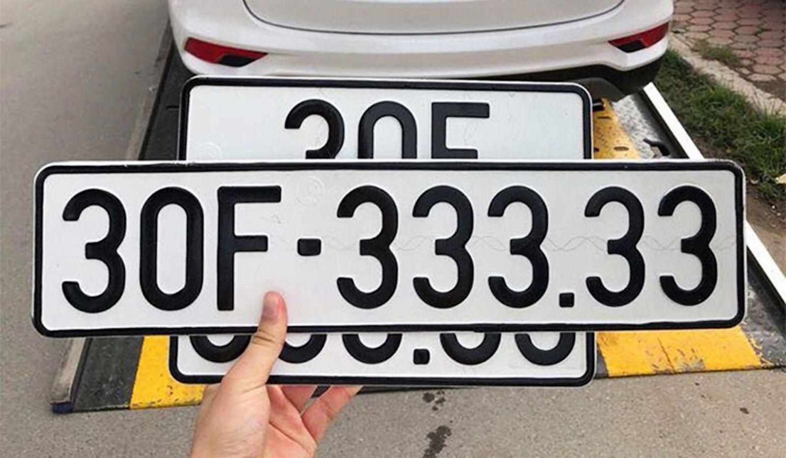 ý nghĩa biển số xe ô tô theo cách tính tổng